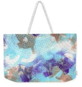 Purple And Blue In The Round Weekender Tote Bag