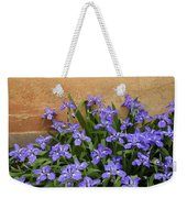 Purple And Orange Weekender Tote Bag