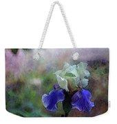 Purple And White Irises 6647 Dp_2 Weekender Tote Bag