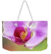 Purple And White Orchid 2 Weekender Tote Bag