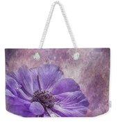 Purple Anemone Art Weekender Tote Bag