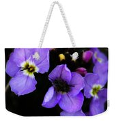Purple Arctic Wild Flowers Weekender Tote Bag