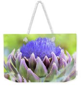 Purple Artichoke Flower  Weekender Tote Bag