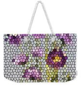 Purple Asters II  Weekender Tote Bag