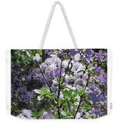 Purple Azaelas Weekender Tote Bag