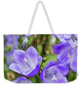 Purple Bell Flowers Weekender Tote Bag