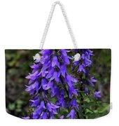 Purple Bell Flowers Weekender Tote Bag