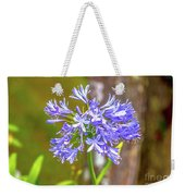 Purple Bells And Blossoms Weekender Tote Bag