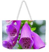 Purple Bells Weekender Tote Bag