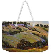 Purple Blooms And Oaks Weekender Tote Bag