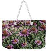 Purple Blooms Weekender Tote Bag