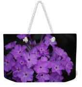 Purple Blossoms Weekender Tote Bag