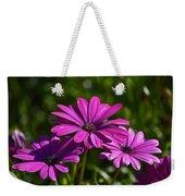 Purple Bouquet Weekender Tote Bag