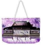 Purple Cadillac Weekender Tote Bag