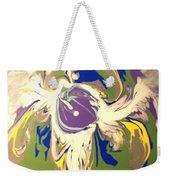 Purple Calla Lilly Weekender Tote Bag