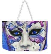Purple Carnival Weekender Tote Bag