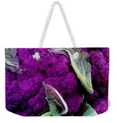 Purple Cauloflower Weekender Tote Bag