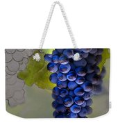 Purple Cluster Weekender Tote Bag