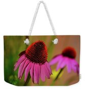 Purple Coneflower Weekender Tote Bag