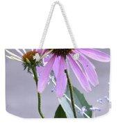 Purple Cornflowers Weekender Tote Bag