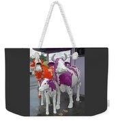 Purple Cow 2 Weekender Tote Bag