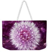 Purple Dandy Weekender Tote Bag