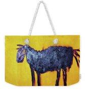 Purple Desert Donkey Weekender Tote Bag