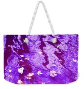 Purple Disturbances Weekender Tote Bag