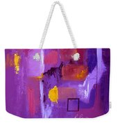 Purple Enclosure Weekender Tote Bag
