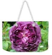 Purple English Rose Weekender Tote Bag