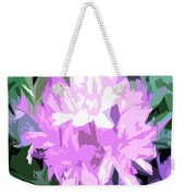 Purple Fades To Lilac Weekender Tote Bag