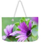 Purple Flower Closeup Weekender Tote Bag