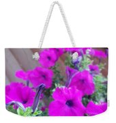 Purple Flowers 1 Weekender Tote Bag