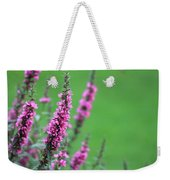 Purple Flowers In A Field Weekender Tote Bag