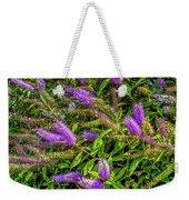 Purple Flowers Of Chiloe Weekender Tote Bag