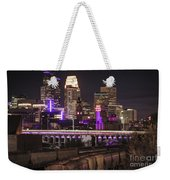 Purple For Prince Weekender Tote Bag