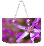 Purple Fragrance Weekender Tote Bag