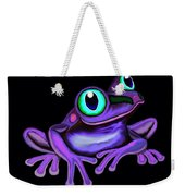 Purple Frog  Weekender Tote Bag