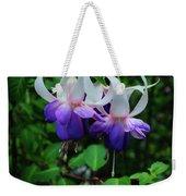 Purple Fuschia Weekender Tote Bag