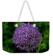 Purple Globe Thistle Weekender Tote Bag