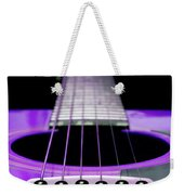 Purple Guitar 15 Weekender Tote Bag
