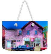 Purple House Weekender Tote Bag