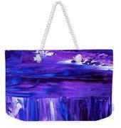 Purple Hue Weekender Tote Bag