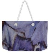 Purple Hut Weekender Tote Bag