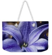 Purple Hyacinth Weekender Tote Bag