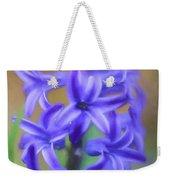 Purple Hyacinths Digital Art Weekender Tote Bag