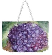 Purple Hydrangea Weekender Tote Bag