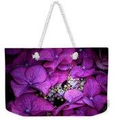 Purple Hydrangeas Weekender Tote Bag