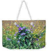 Purple In The Morning Weekender Tote Bag