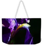 Purple Iris 2 Weekender Tote Bag